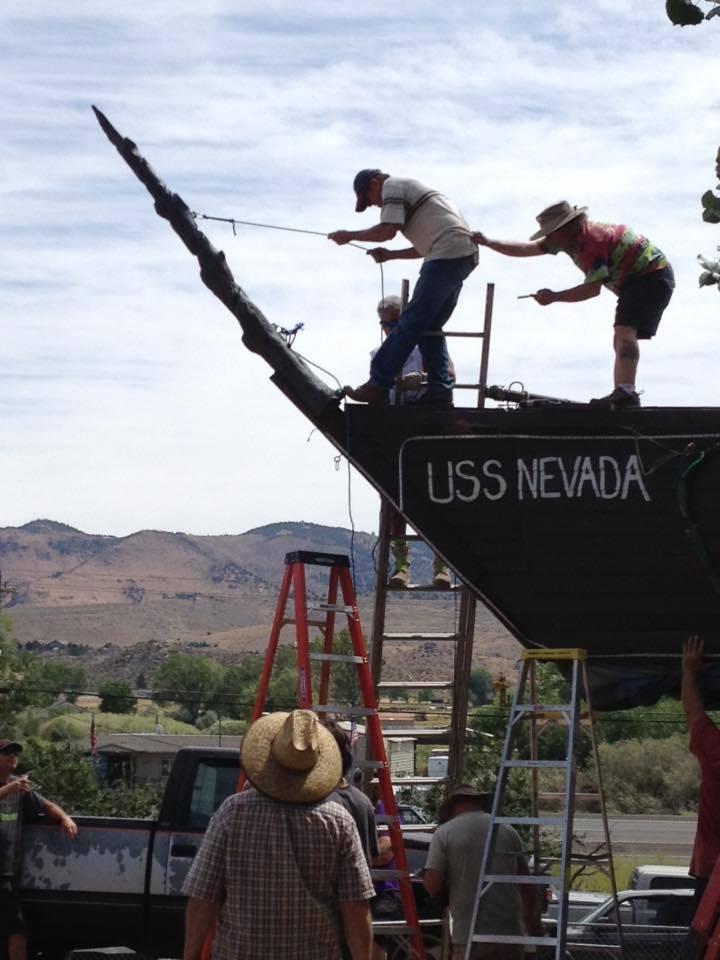 USS Nevada Bowsprits