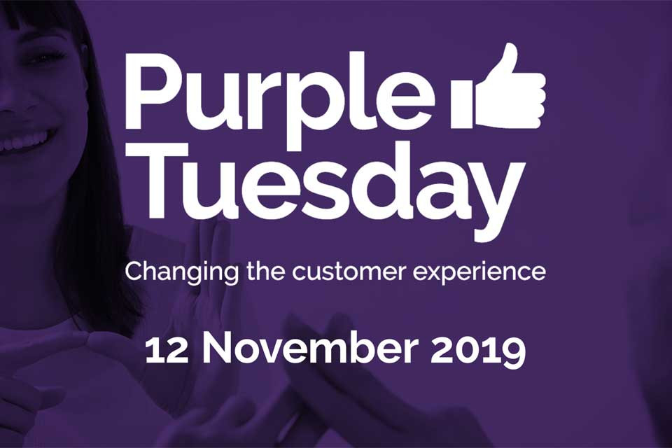 Purple Tuesday: the UK's accessible shopping day 12th Nov 2019