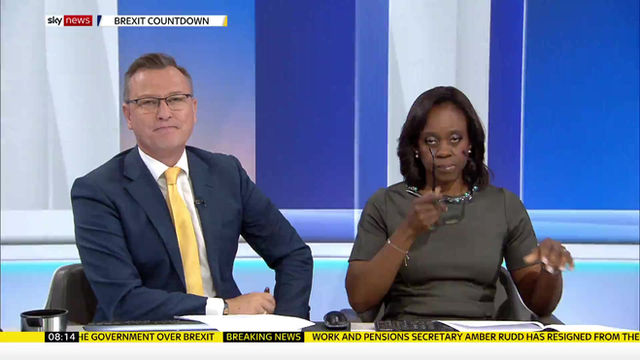 Blind Ambition on Sky News