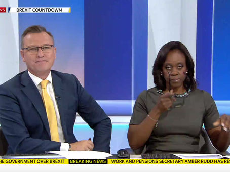 Blind Ambition on Sky News