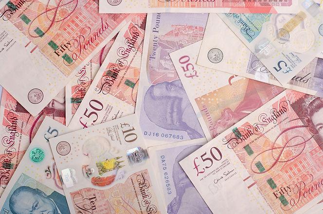 UK pound,money of United kingdom close u
