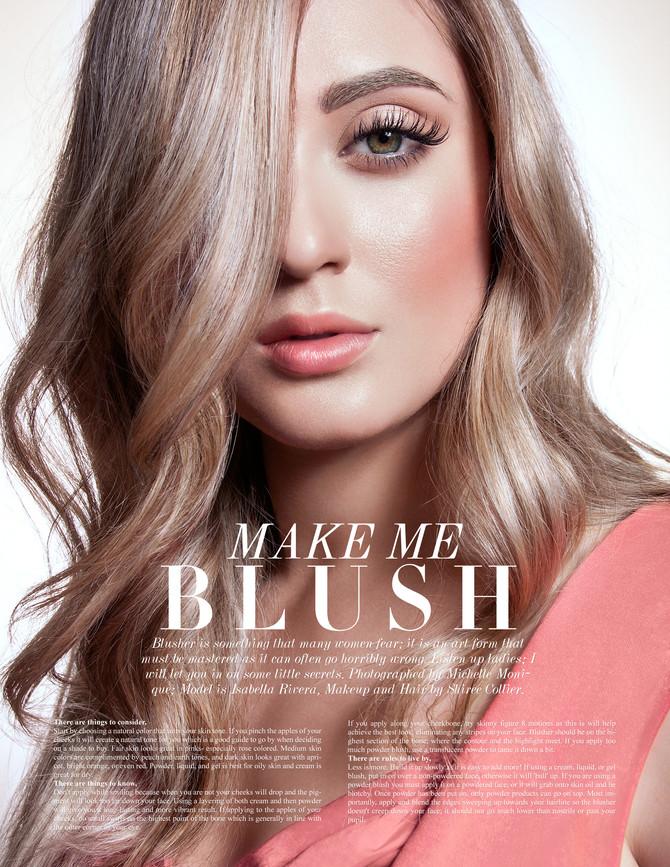 Make me blush!