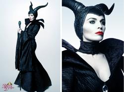 maleficent collage