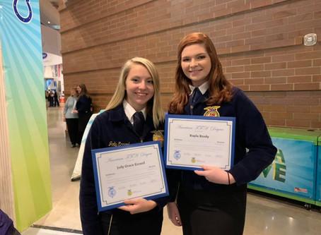 Congratulations Jody and Kayla