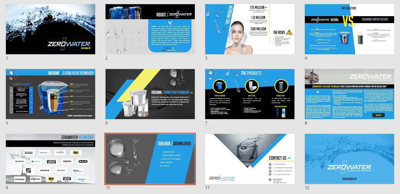 ZeroWater Press Kit