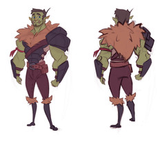 Character Concept: Orc