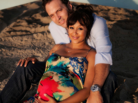 Los Angeles Photographer | Tamera Mowry + Adam Housley