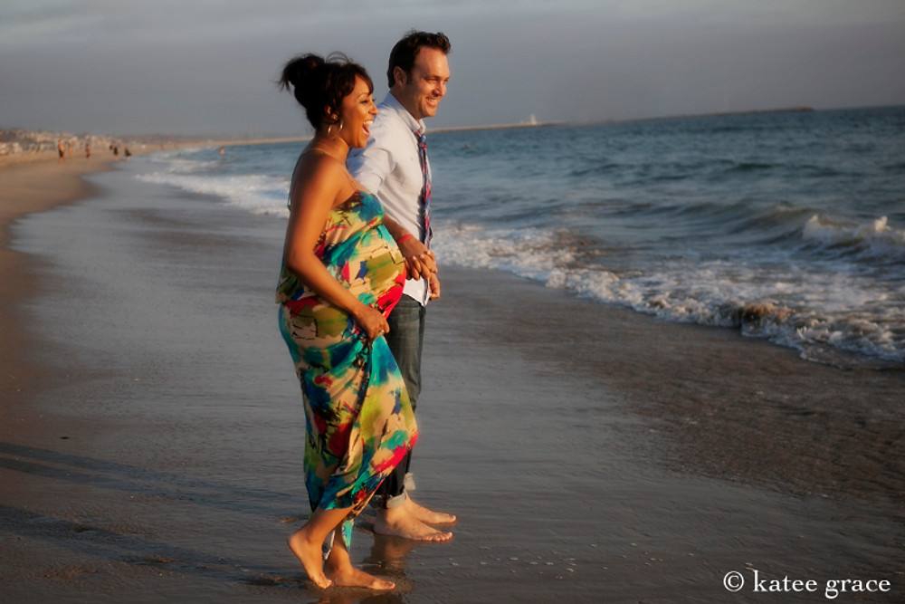 Adam Housley & Tamera Mowry by Katee Grace, Los Angeles Photographer