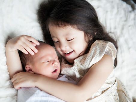 Los Angeles Newborn Photographer | Chin Family