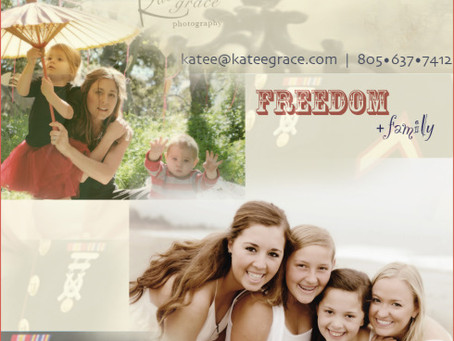 freedom + family july special | santa barbara photography