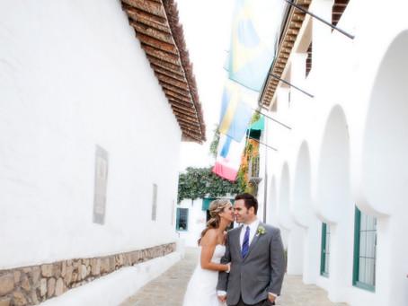 Santa Barbara Photographer | Santa Barbara Courthouse Wedding + El Paseo Reception
