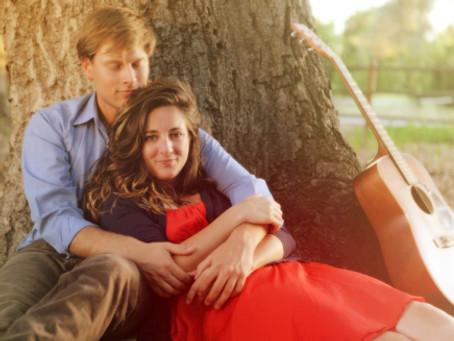 mollie + gavin | ojai engagement | loon point wedding