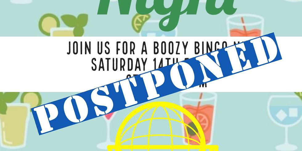 Boozy Bingo (POSTPONED)