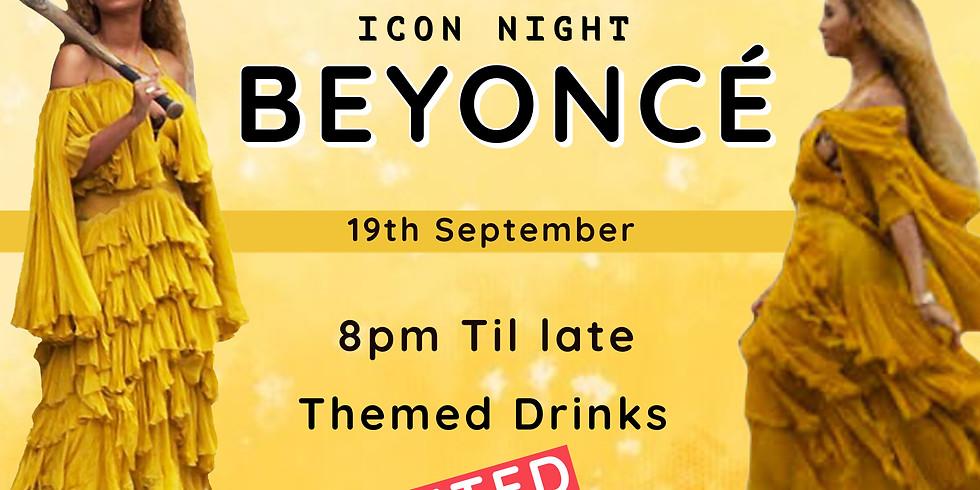 ICON NIGHT - Beyoncé