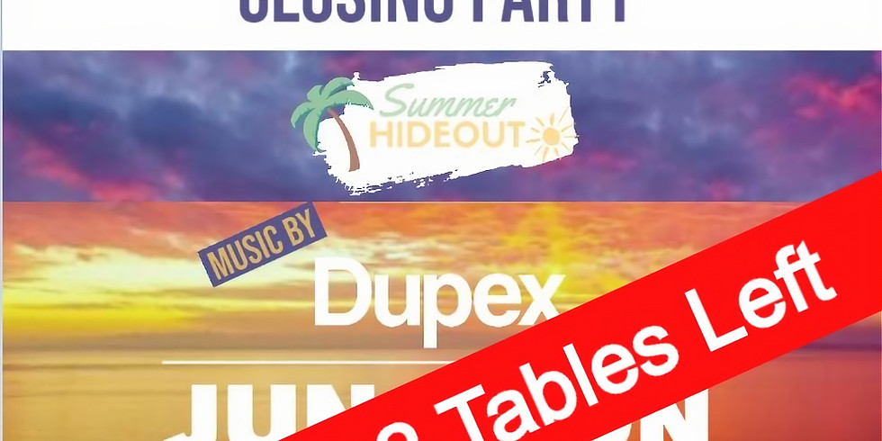 Closing Party - The Summer Hideout