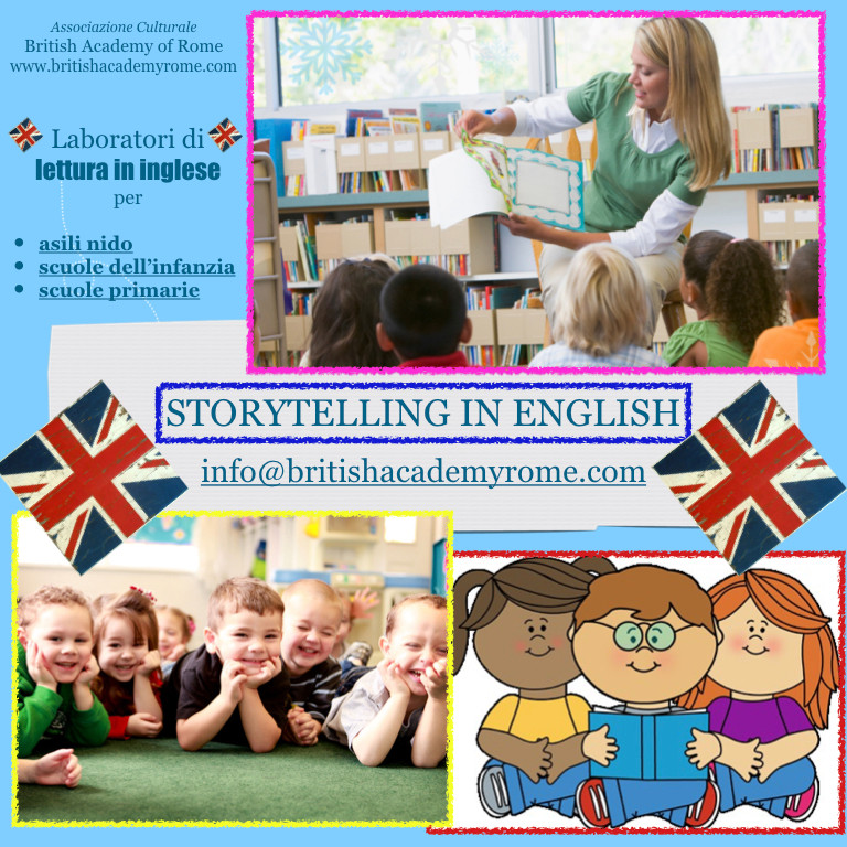 ENGLISH STORYTELLING FOR SCHOOLS