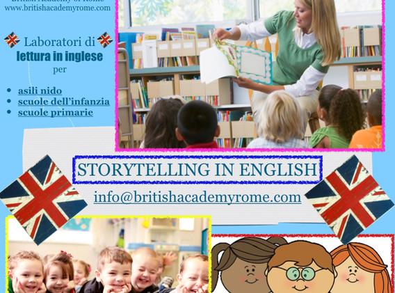 ENGLISH STORYTELLING FOR SCHOOLS