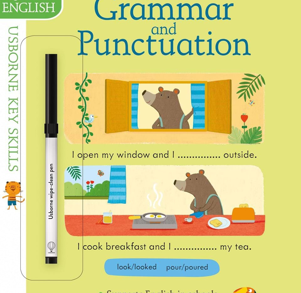 GRAMMAR AND PUNCTUATION WIPE-CLEAN ACTIVITY BOOK