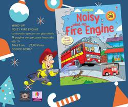 Wind-Up Noisy Fire Engine