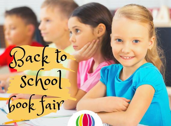 BACK TO SCHOOL BOOK FAIR - SEP/OCT 2019