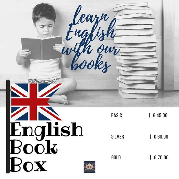English books for children and teenagers.