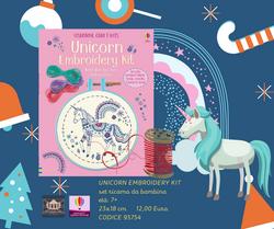 Unicorn Embroidery Kit