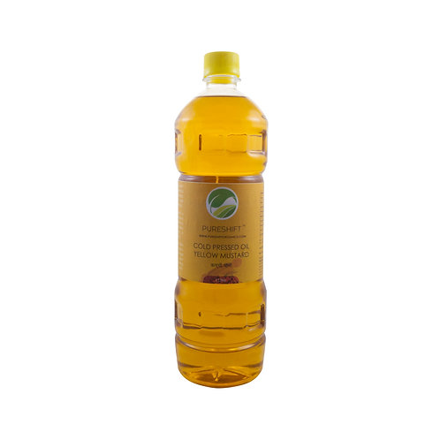 Cold Pressed Yellow Mustard Oil - 1 Litre