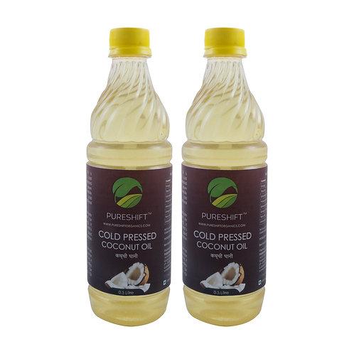 Cold Pressed Coconut Oil - 1 Litre