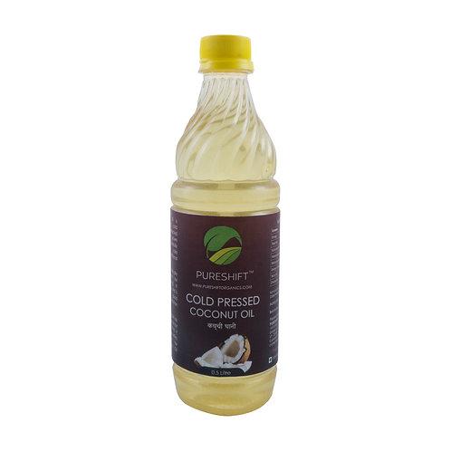 Cold Pressed Coconut Oil - 1/2 Litre