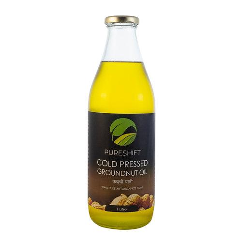 Cold Pressed Groundnut Oil - 1 Litre