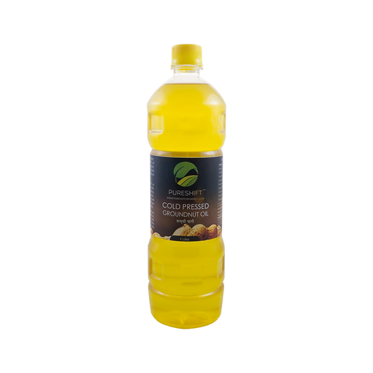 Pureshift Cold Pressed Groundnut Oil