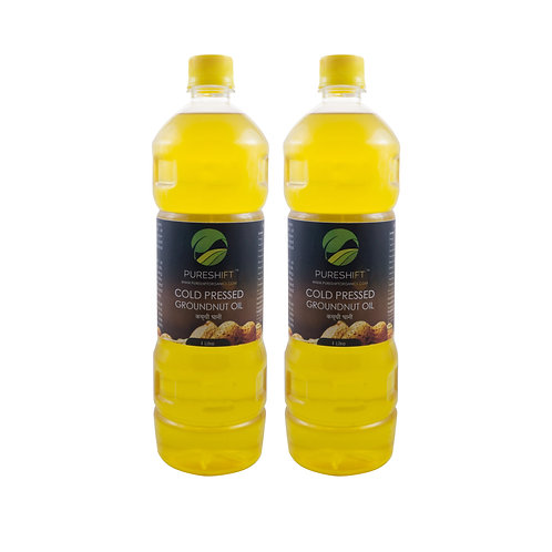 Cold Pressed Groundnut Oil - 2 Litres