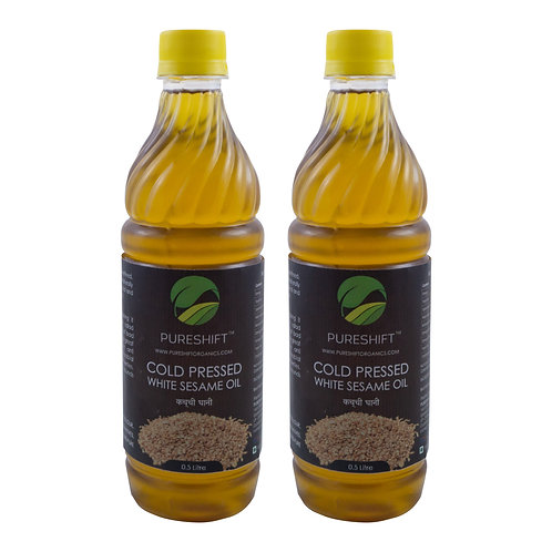 Cold Pressed White Sesame Oil - 1 Litre