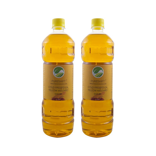 Cold Pressed Yellow Mustard Oil - 2 Litre