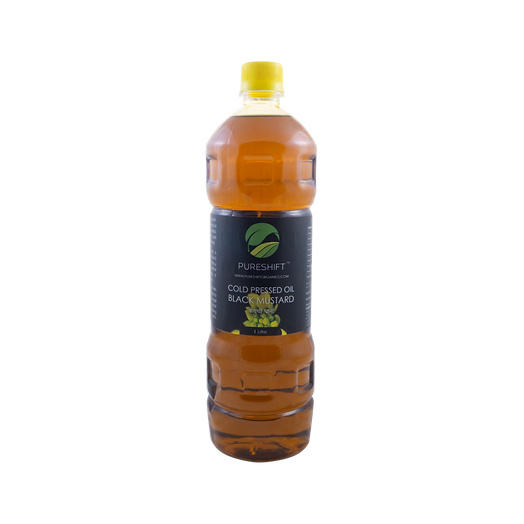 Pureshift Cold Pressed Yellow Mustard Oil
