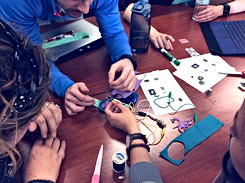 Teaching the Makerspaces in Education course at Penn State
