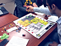Teaching the Researching and Designing Games for Learning course at Penn State
