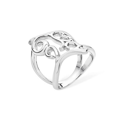 Silver Elements ring