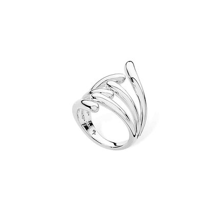 Silver Drip ring