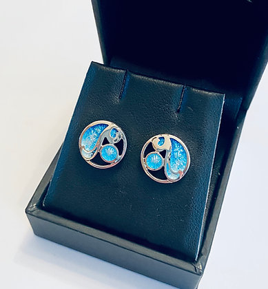 Ortak Hummingbird stud earrings