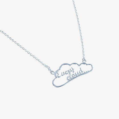 Every Cloud necklet