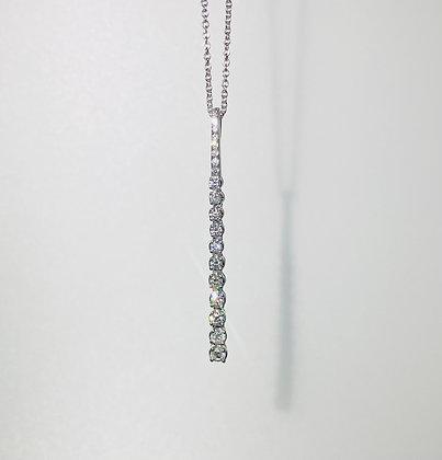 18ct diamond pendant