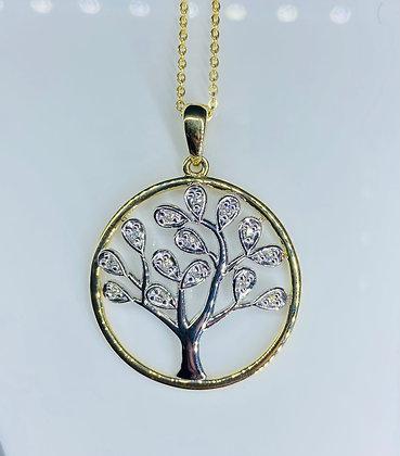 9ct Tree of Life pendant
