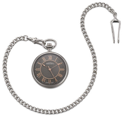 Open faced pocket watch