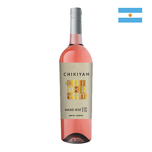 Chikiyam Malbec Rosé 750ml