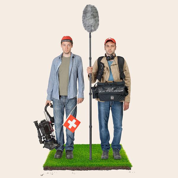 ton und bild GmbH, Andreas Pfiffner und Simon Baumann