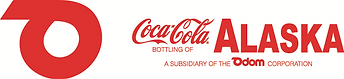 Coca-Cola Bottling of Alaska Logo - Red.
