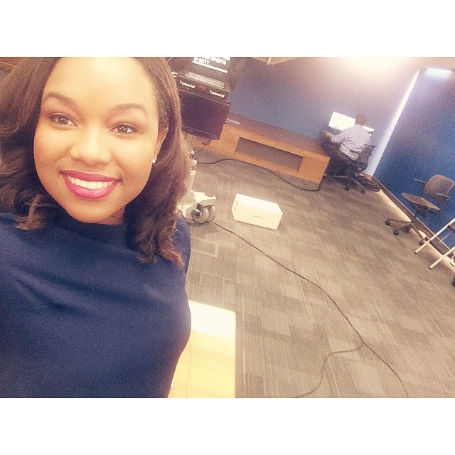 Selfies in the Newsroom