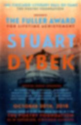 2018 Fuller Award Poster for Stuart Dybek designed by Mary Livoni
