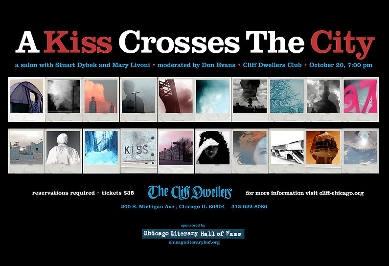A Kiss Crosses the City poster design